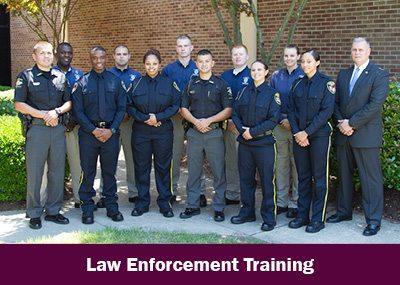 Law enforcement training image
