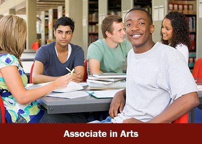 Associate in Arts graphics