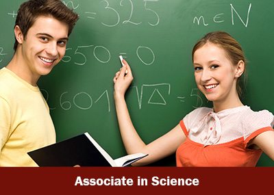 Associate in Science graphic