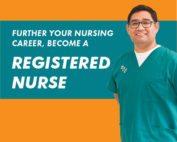 Further your nursing career, become a registered nurse