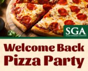 SGA Welcome Back Pizza Party