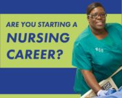 Are you starting a nursing career?