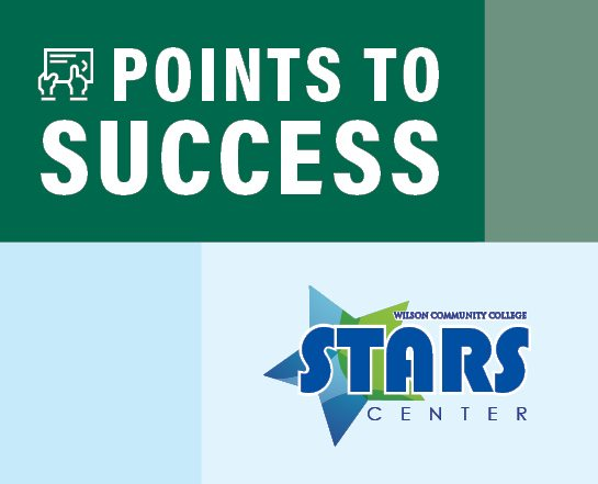 Points to Success workshop sponsored by the STARS Center