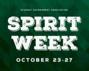Spirit Week Oct 23-27