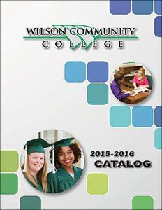 2015-2016 Wilson CC Catalog