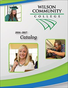 2016-2017 Wilson CC Catalog