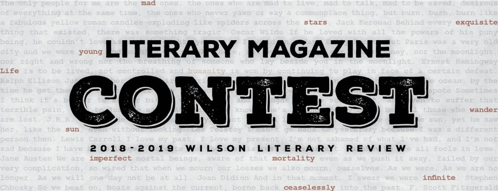 Wilson Community College 2018-2019 Literary Review Contest