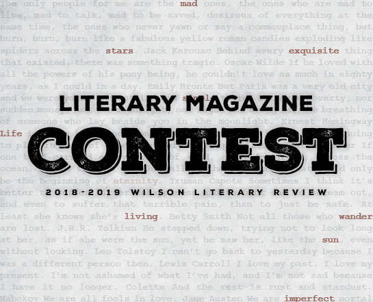 208-2019 Literary Review Contest