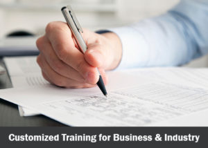 Customized Training for Business and Industry