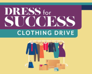 Dress for Success Clothing Drive
