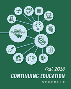 Fall 2018 Continuing Education Schedule booklet