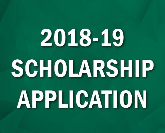 2018-19 Scholarship Application
