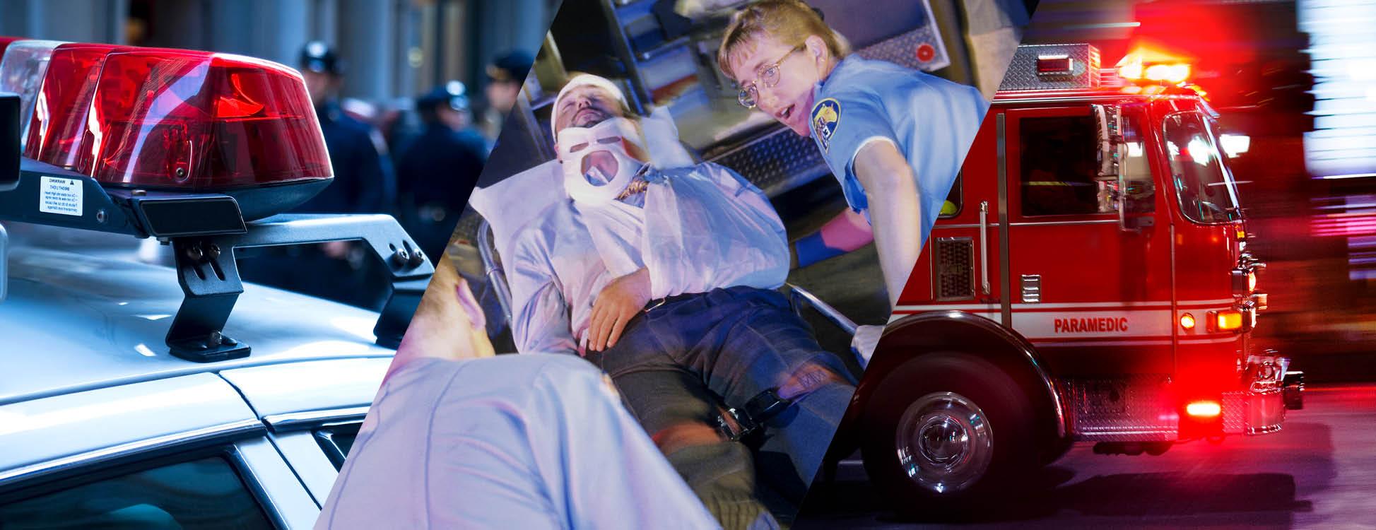 Law Enforcement, Emergency Medical Services, Fire & Rescue