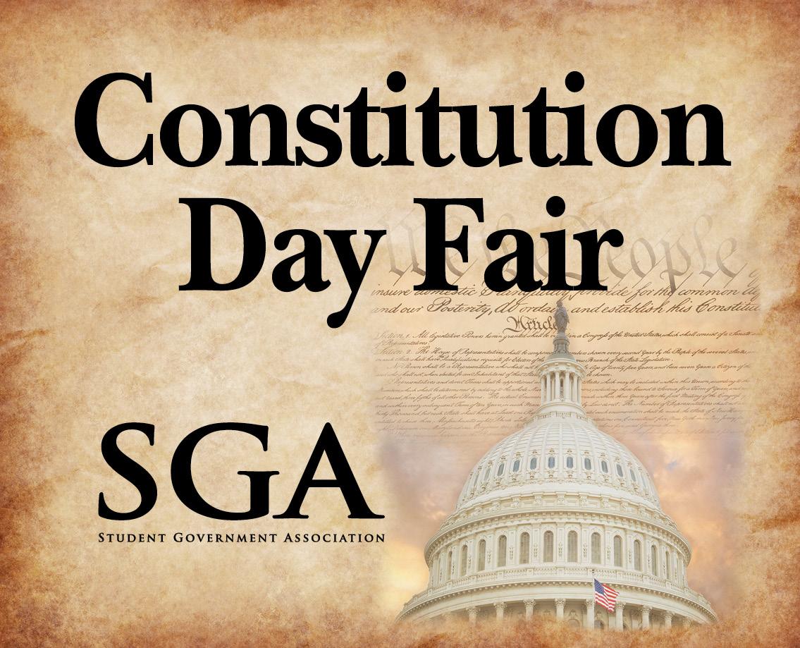 SGA Constitution Day Fair