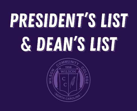 President's List and Dean's List