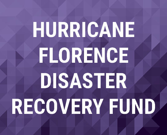 Hurricane Florence Disaster Recovery Fund