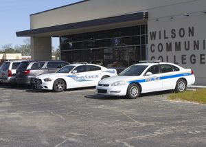 police cars from wilson and clayton