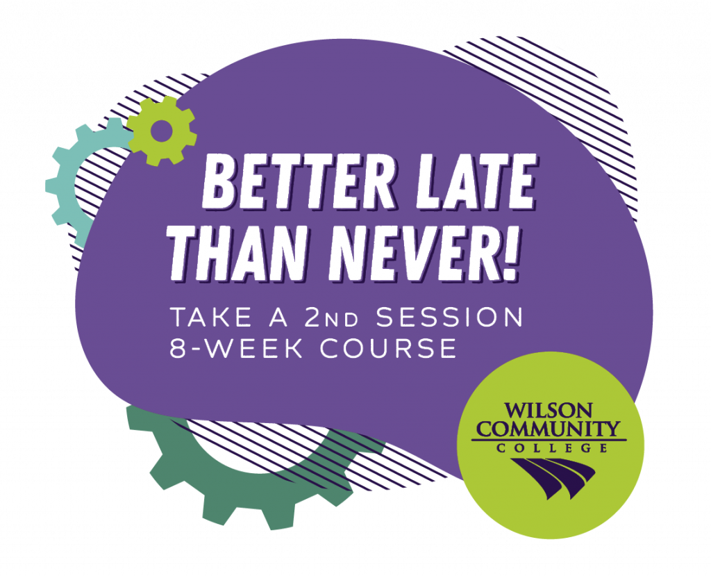better late than never, take a 2nd session 8-week course