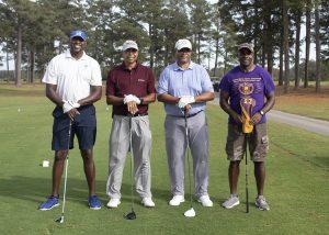 photo of 2020 golf tournament team