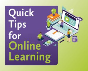 quick tips for online learning