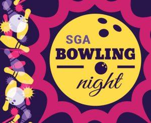SGA bowling night