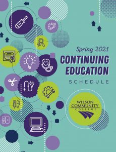Wilson Community College Spring 2021 Continuing Education Schedule