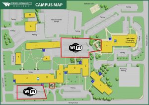 campus wifi hotspot map