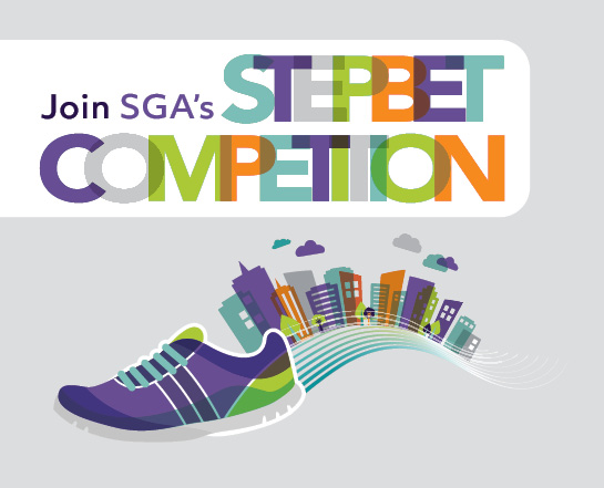 Join SGA's Step Bet Competition